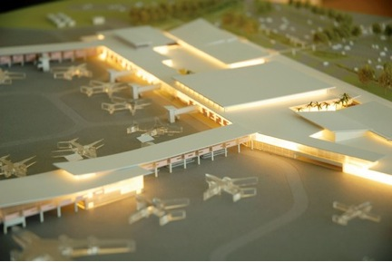 Model of Nassau Airport