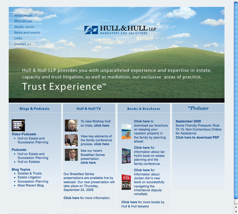 Hull_and_Hull_law_firm_web_site