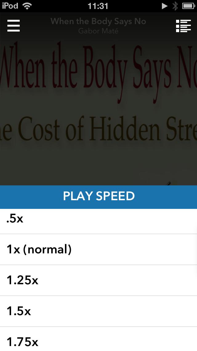 I use 1.75x to play back audiobooks