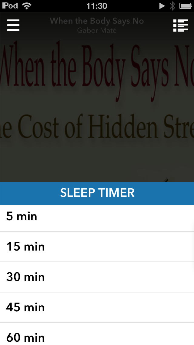 A great feature for insomniacs?