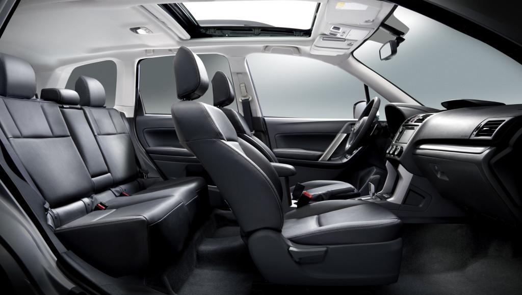 A roomy, comfortable interior Photo: Subaru Canada
