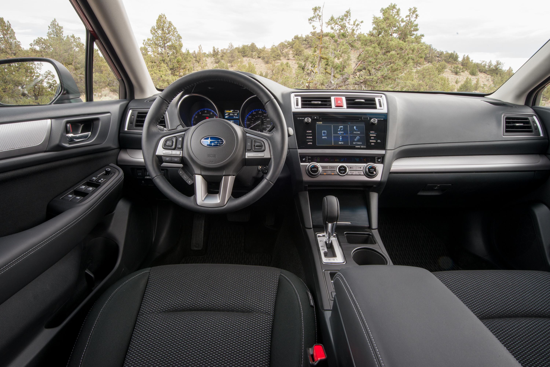 A simple, functional Subaru cabin. Photo: Subaru