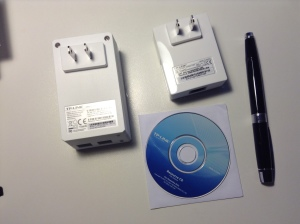 Actual size of components, with my fountain pen as a reference. BTW, who uses mini-CDs anymore?