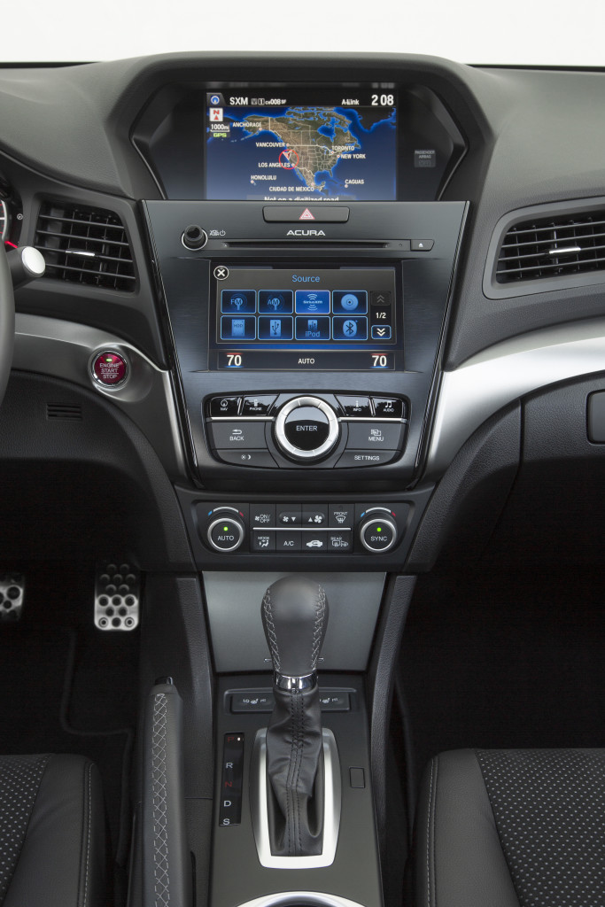 "The above-mentioned controller is the ""ring"" in the centre of this photo. Photo courtesy Acura"